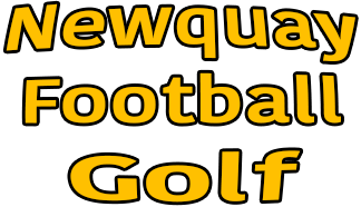 Newquay Football Golf Logo