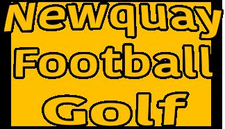 Newquay Football Golf Logo